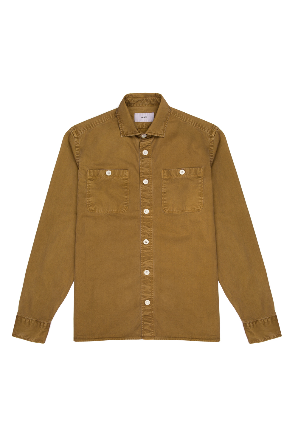 Wax London Fleet Shirt Sand