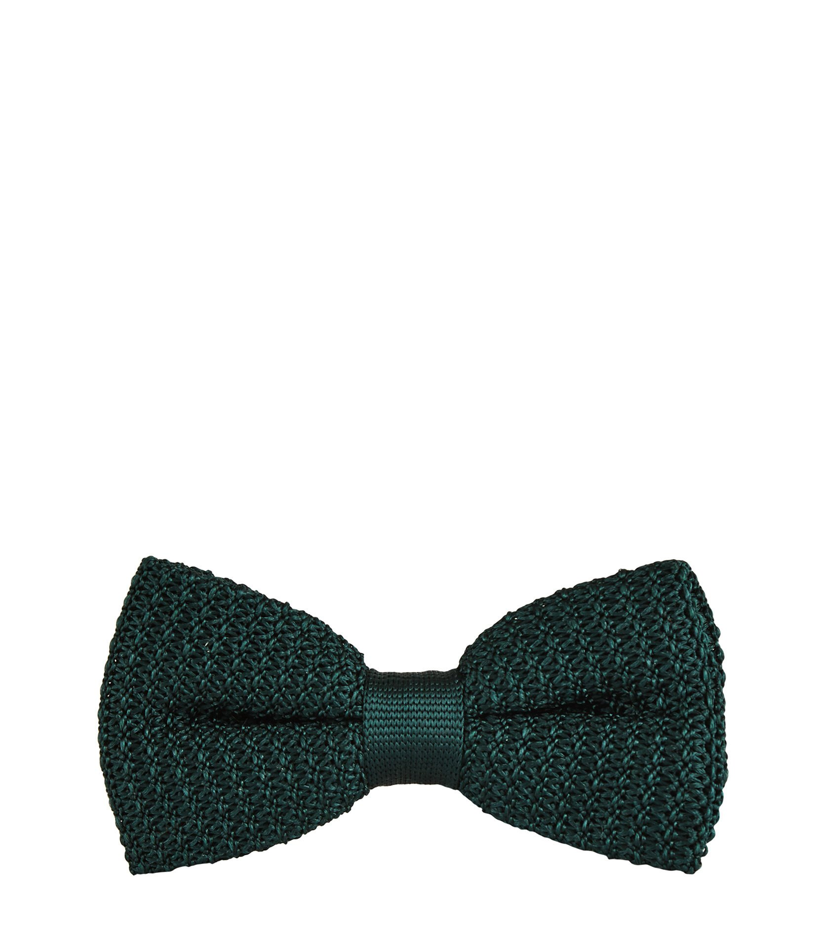 Reiss Emerald Dexter Knitted Silk Bow Tie