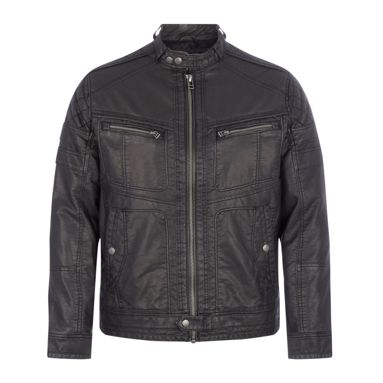 Red Herring Black biker jacket