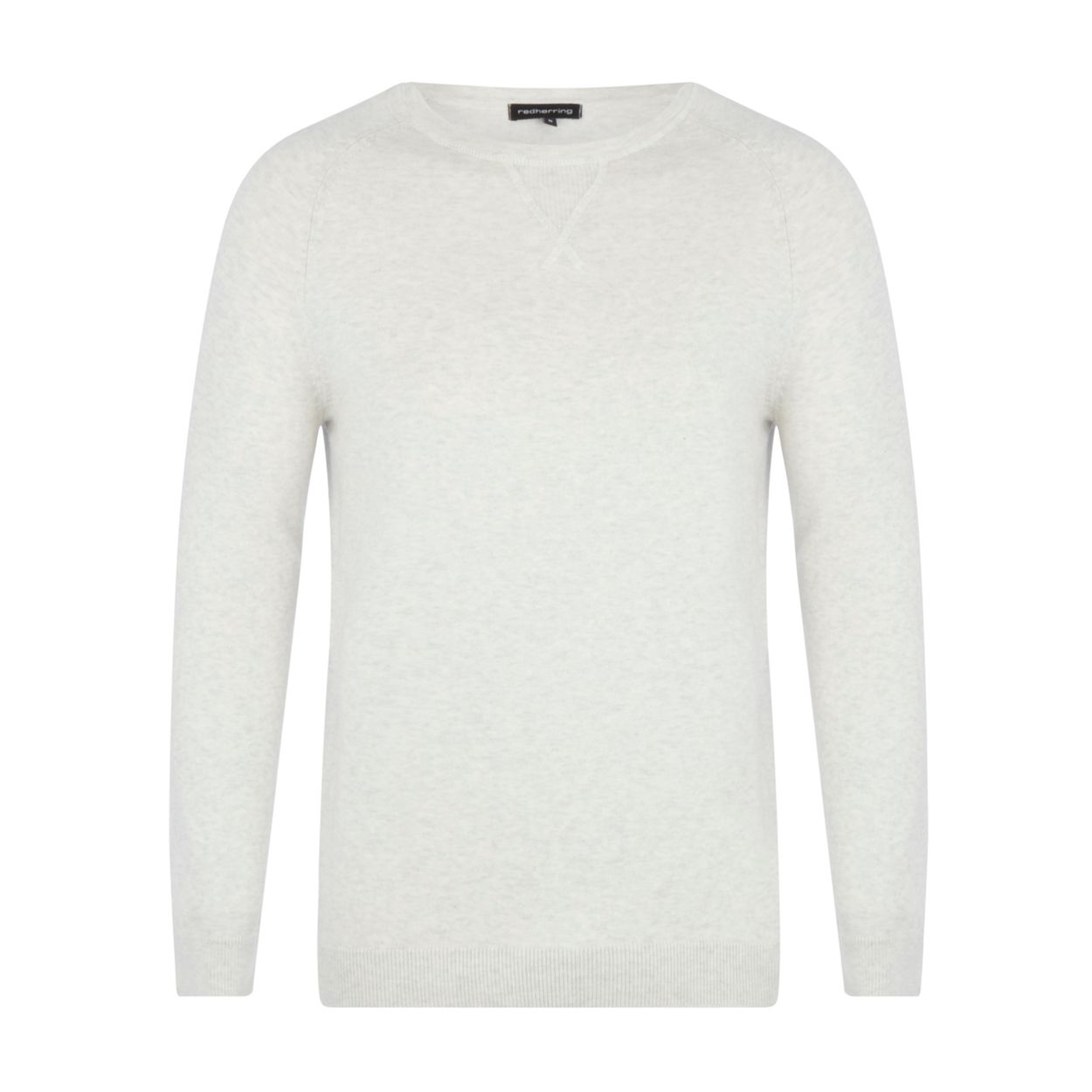 Red Herring Natural crew neck jumper