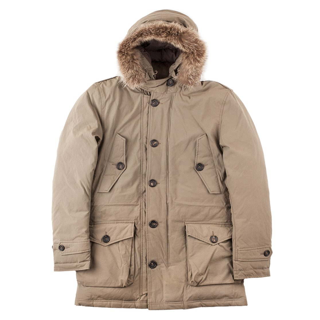 Timothy Everest Taupe Tailored Parka