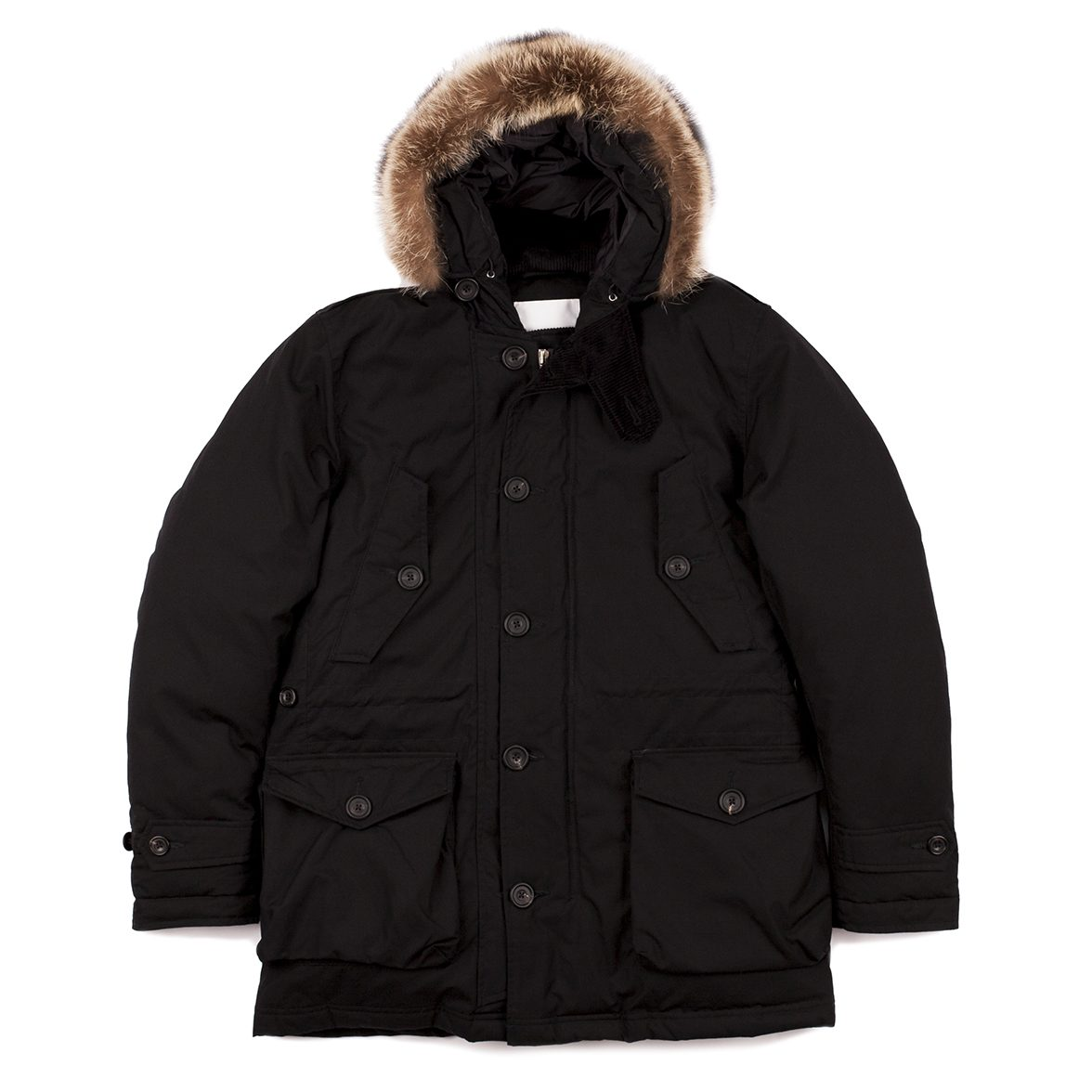 Timothy Everest Black Tailored Parka