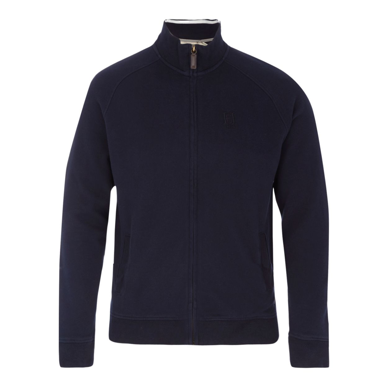 Hammond & Co. by Patrick Grant Navy pique sweater
