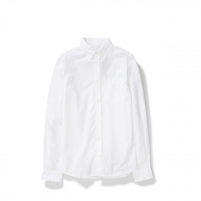 Norse Projects White Anton Oxford Shirt