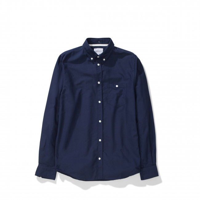 Norse Projects Navy Anton Oxford Shirt