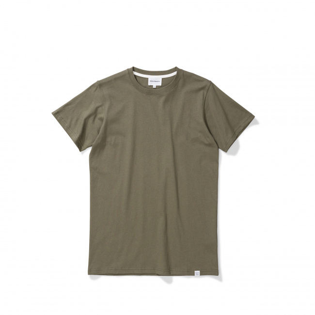 Norse Projects Khaki Niels Standard T-Shirt