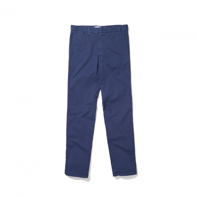 Norse Projects Navy Aros Slim Stretch Chinos