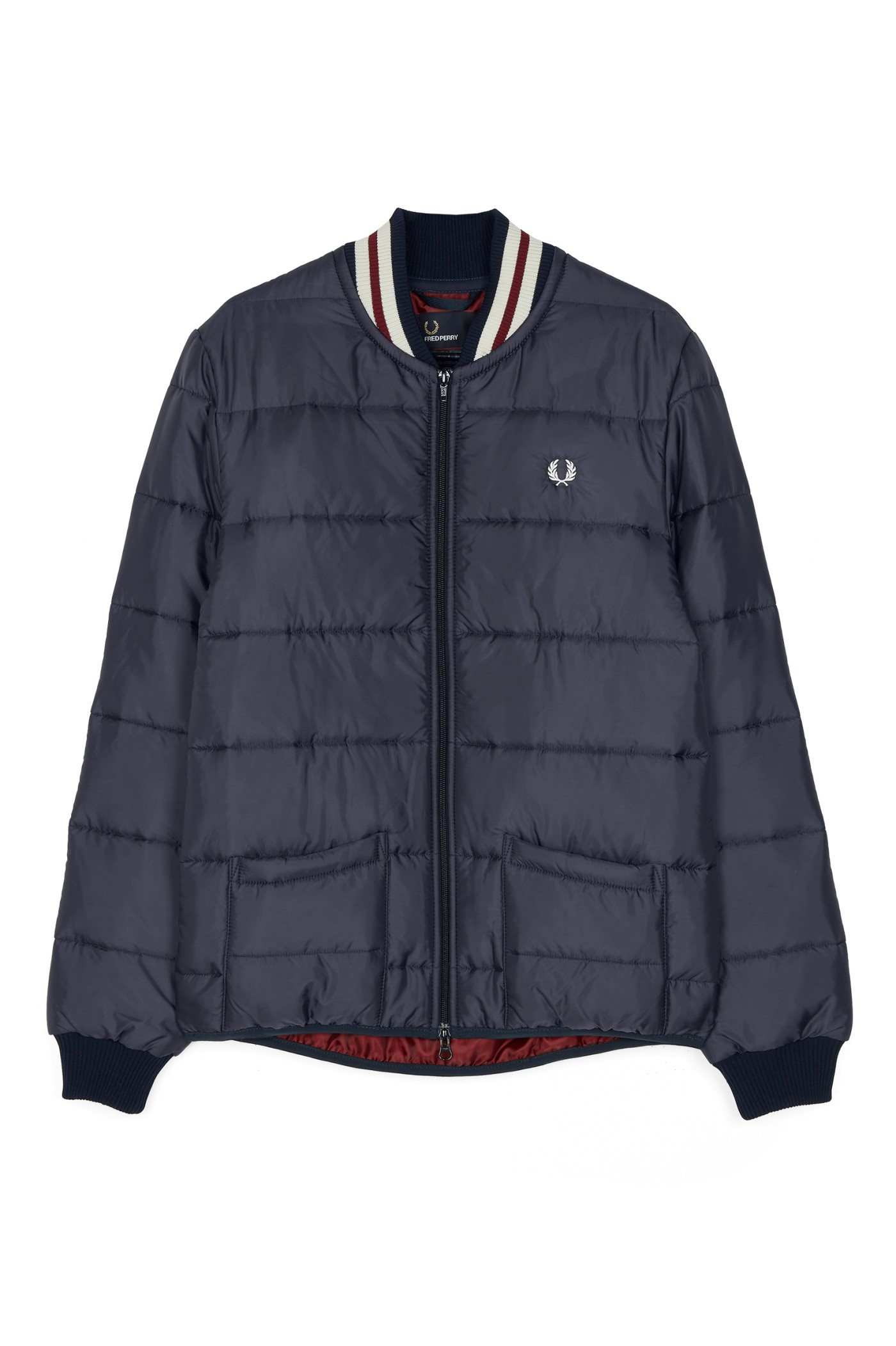 Fred Perry Lavenham Quilted Bomber Jacket