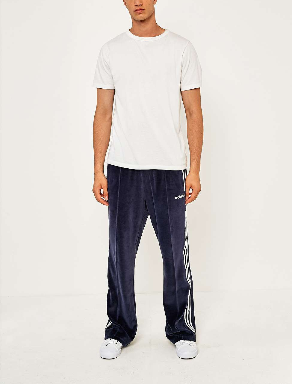 Legend Ink Os Velour Track Pants By Adidas Thread Us
