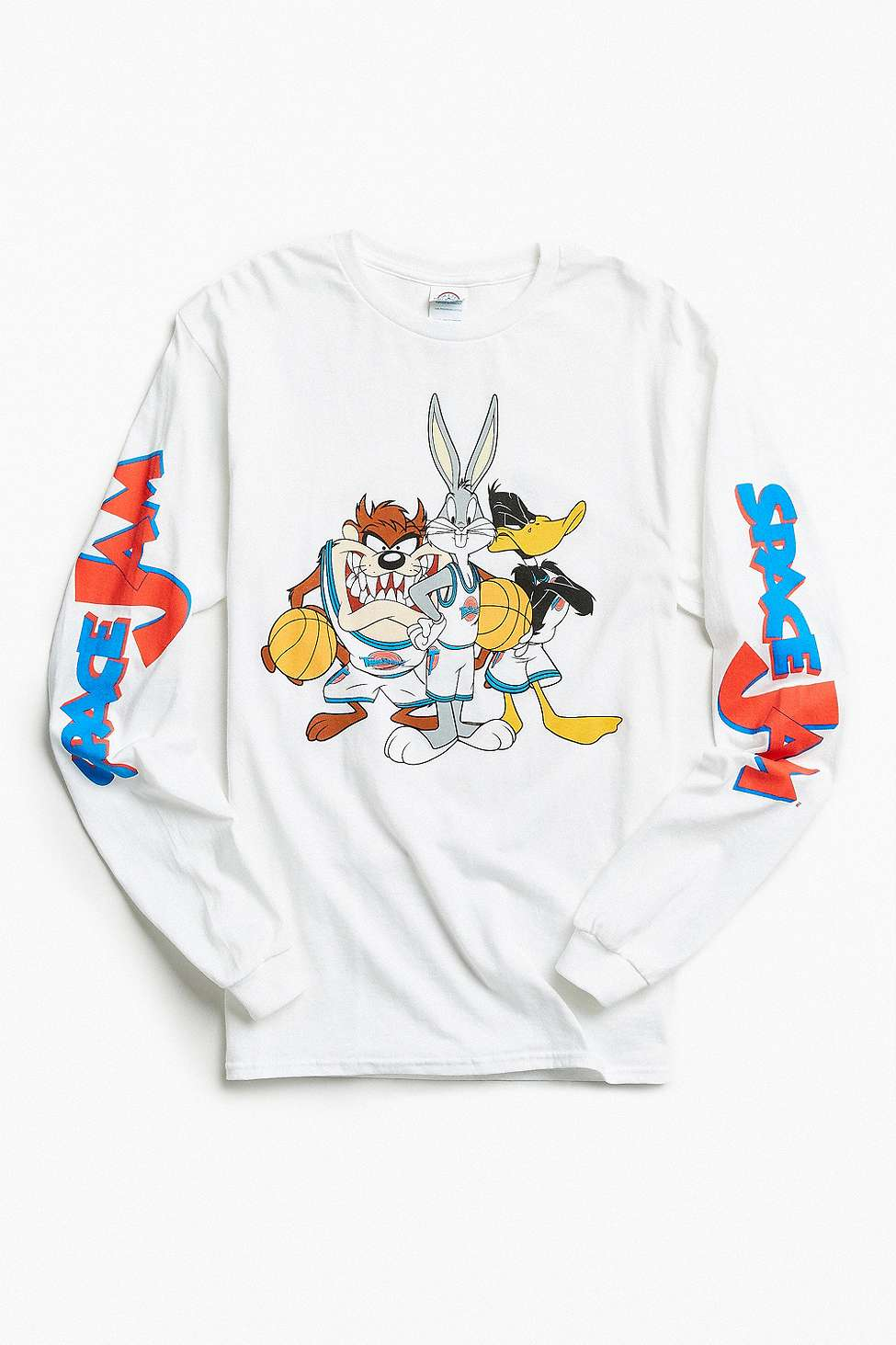 Space Jam Long Sleeve Tee By Urban Outfitters Thread Com