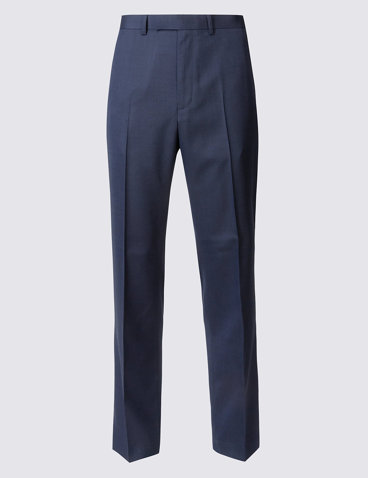 Marks & Spencer Indigo Tailored Fit Trousers