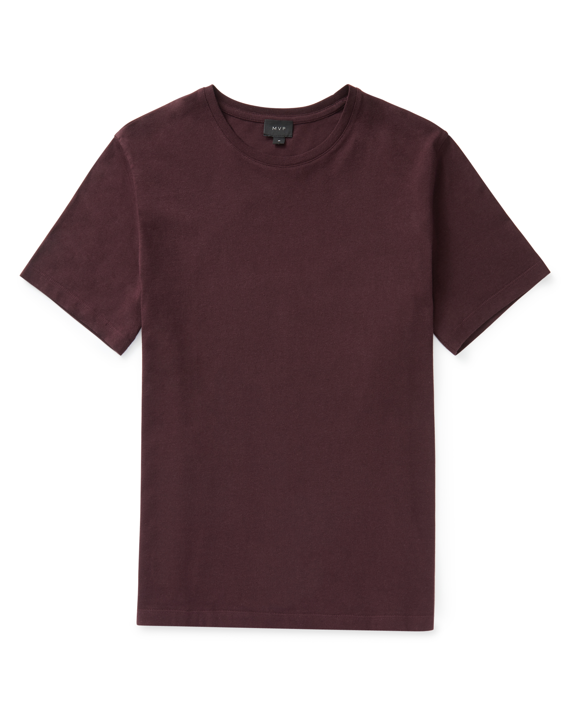 MVP Burgundy Ashfield Crew Neck T-shirt