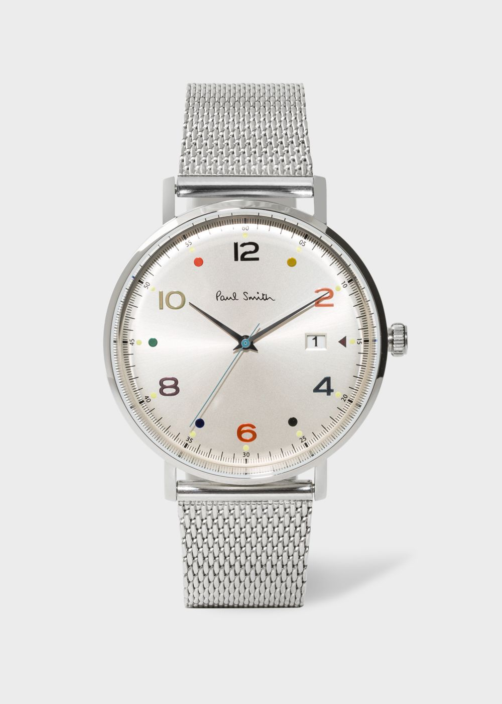 Paul Smith Men's Stainless Steel 'Gauge Colour' Watch