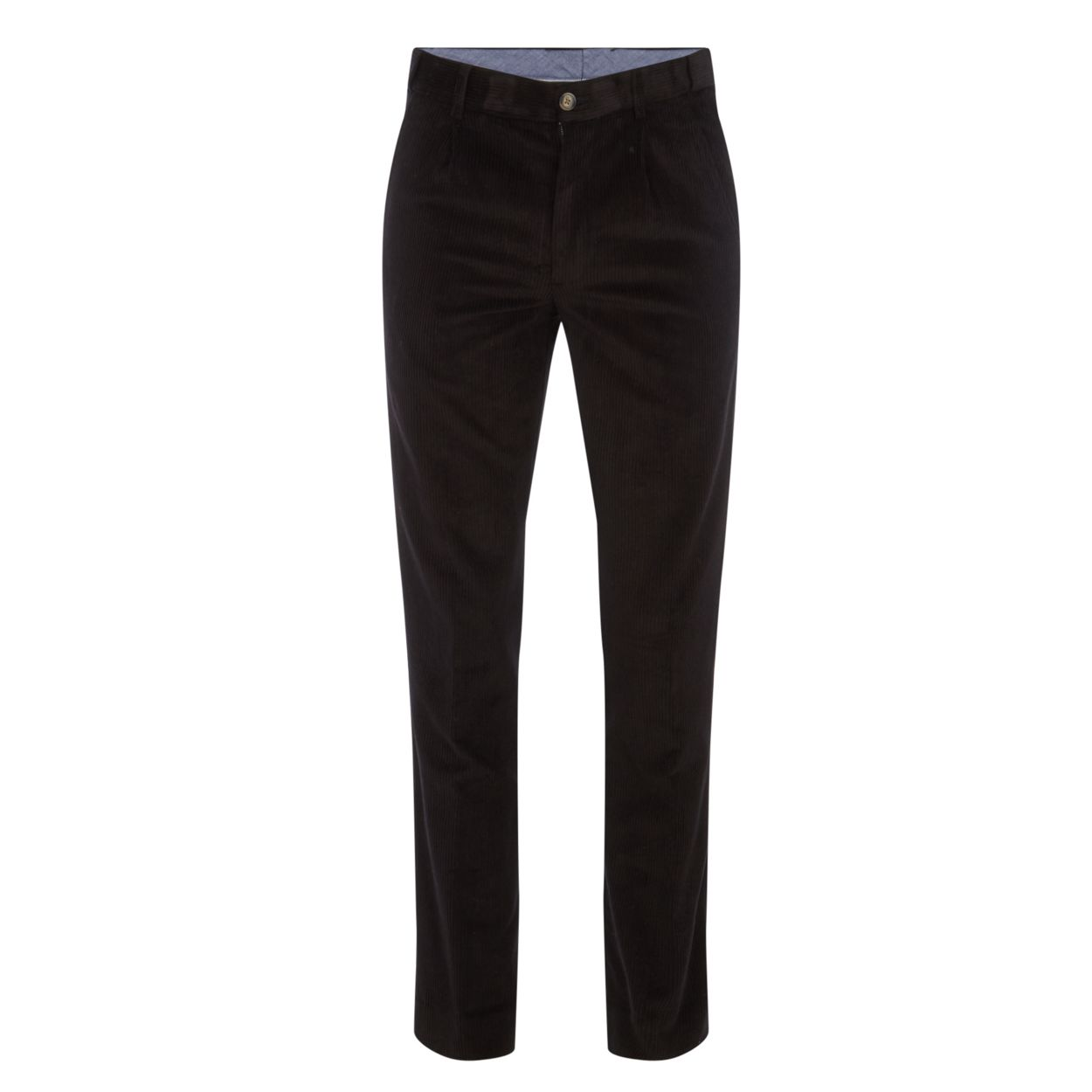 Maine New England Black cord trousers