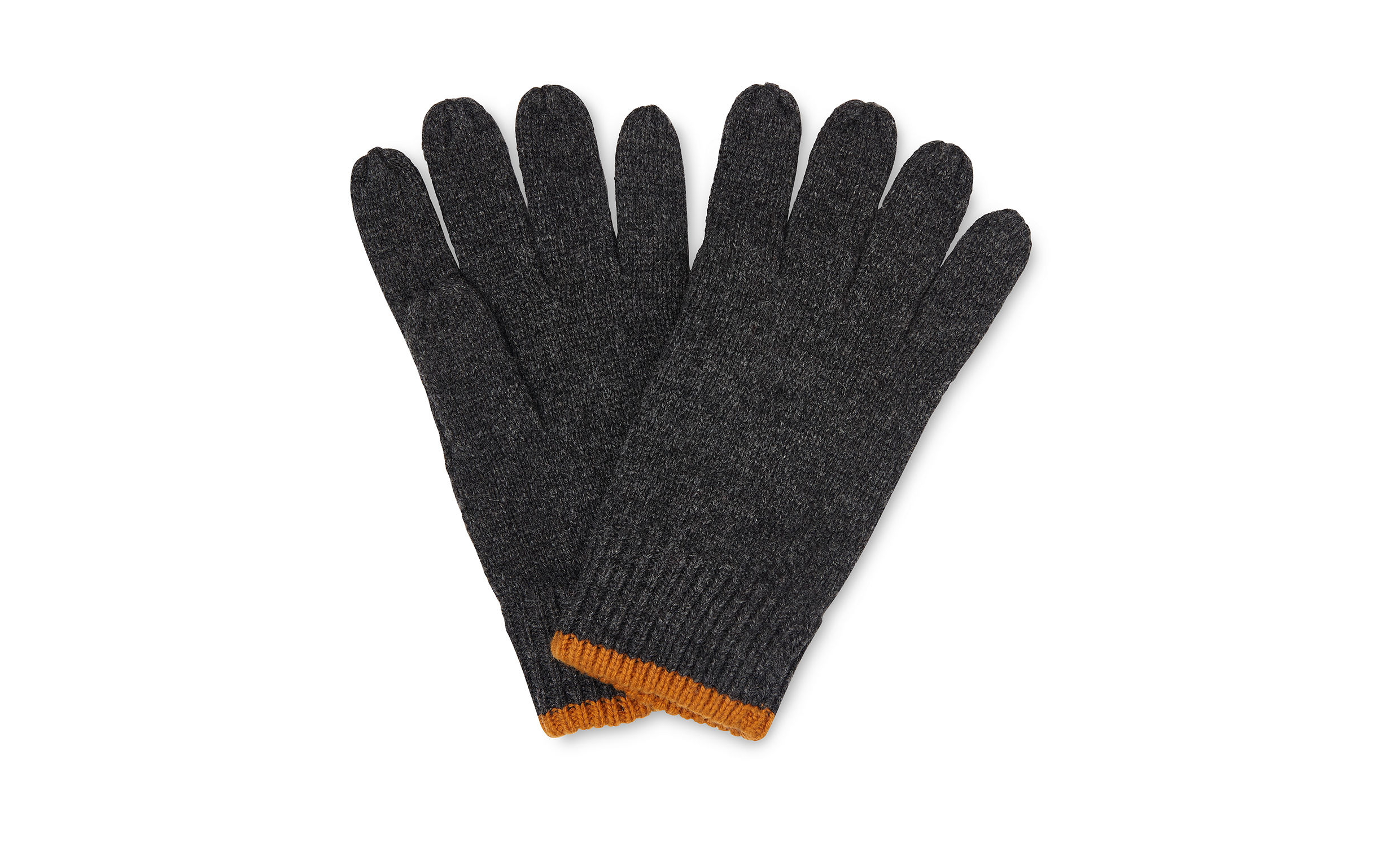 Whistles Grey/Multi Knitted gloves