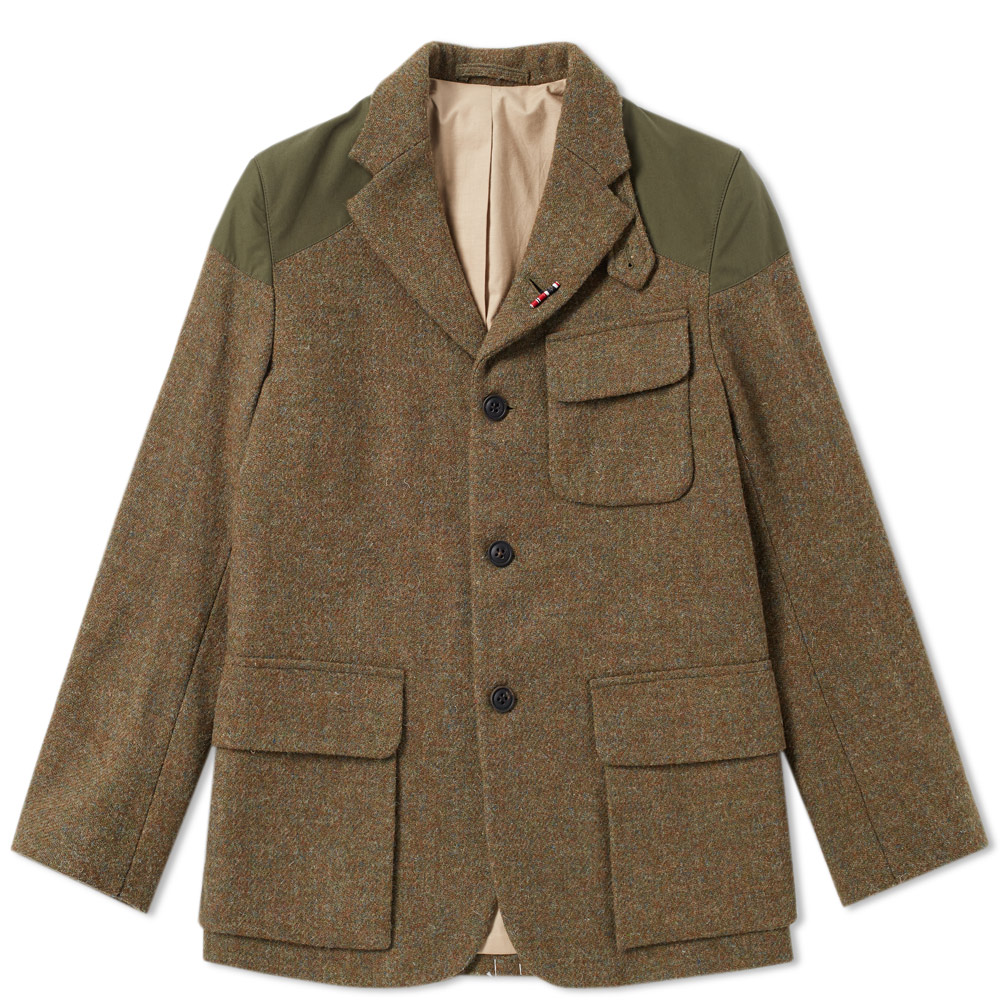 Nigel Cabourn Army Green Authentic Mallory Jacket