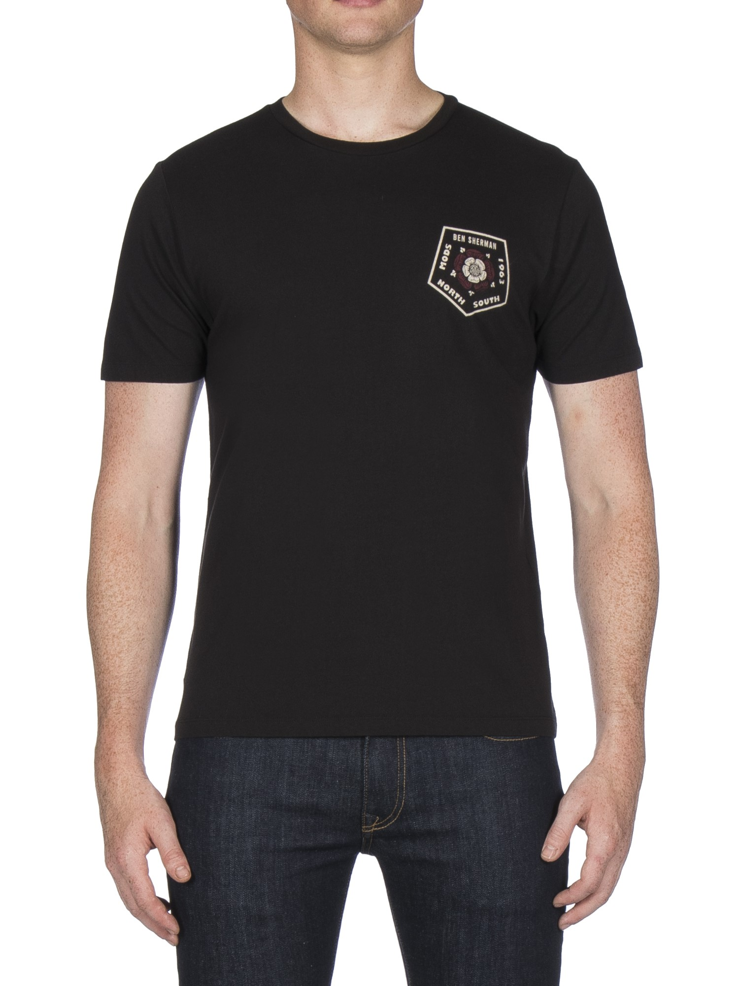 Ben Sherman Black Badge Back Print T-Shirt