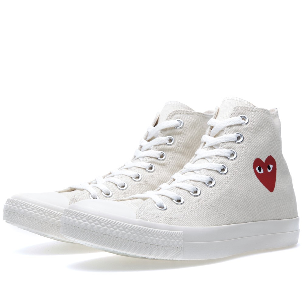 Converse All Des Hi Play X Star By Comme Cdg Garcons FKJc3Tl1