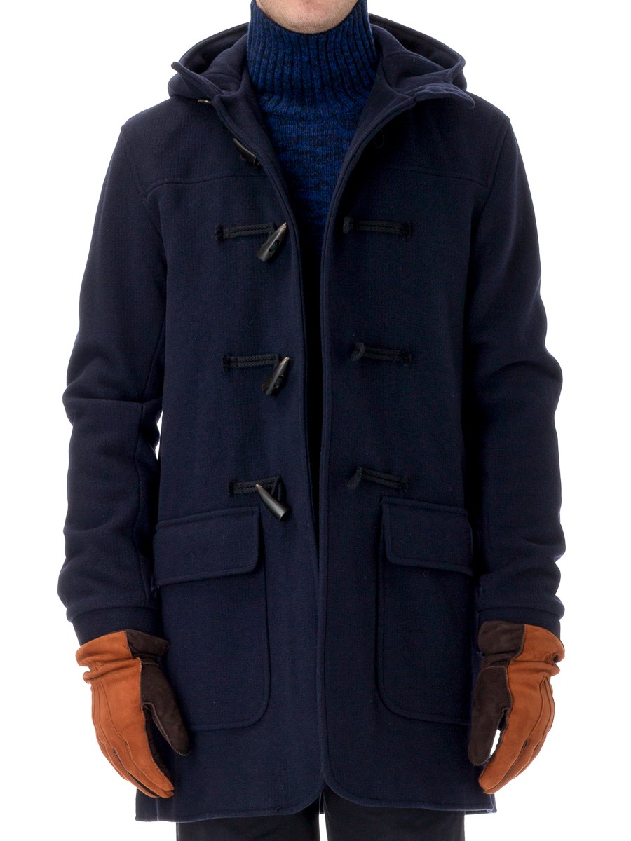 Oliver Spencer Duffle Coat Melford Midnight OSJ280