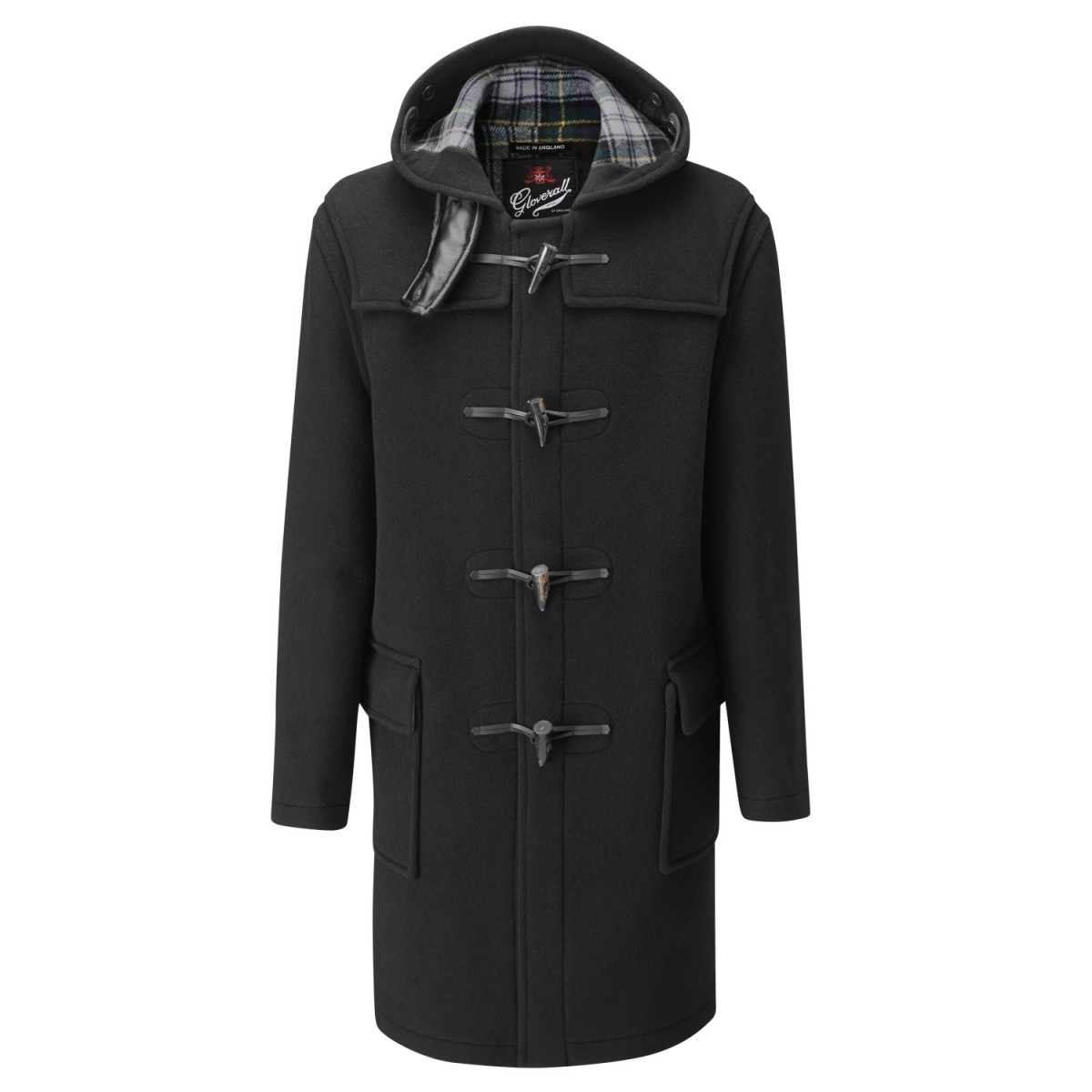Gloverall Black Classic Duffle Coat