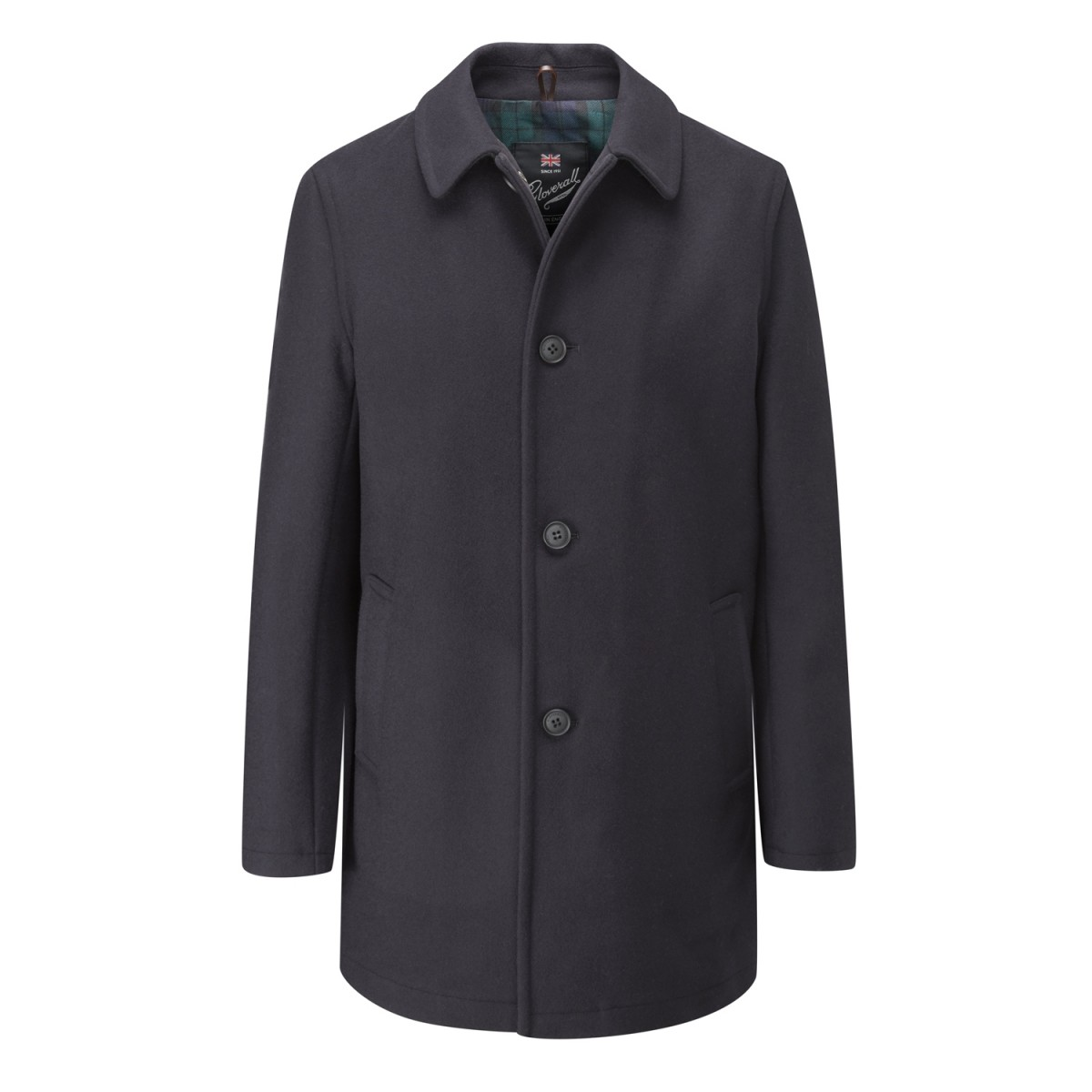 Gloverall Navy Men's Casual Overcoat