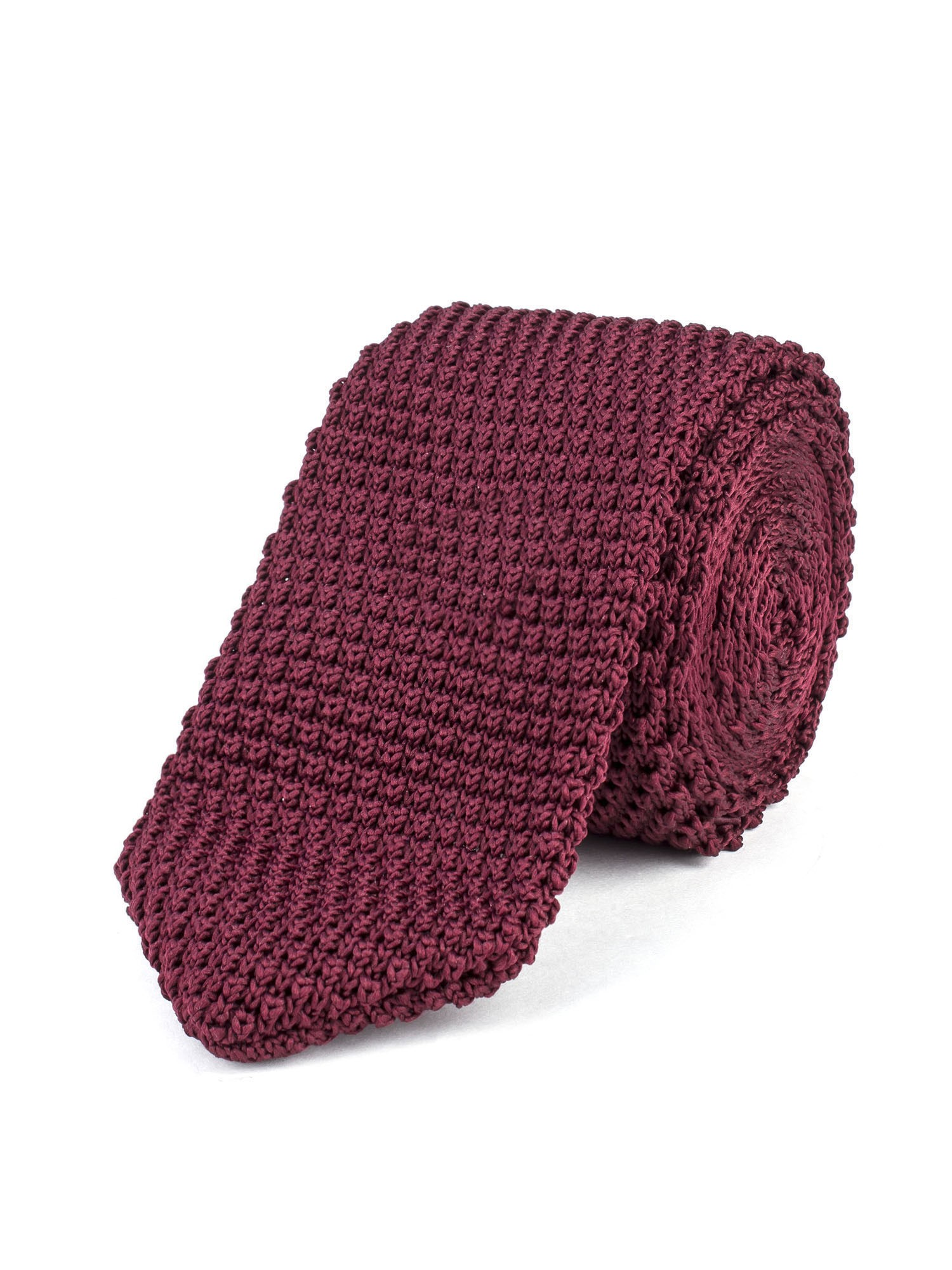 Ben Sherman Bordeaux Knitted Tie