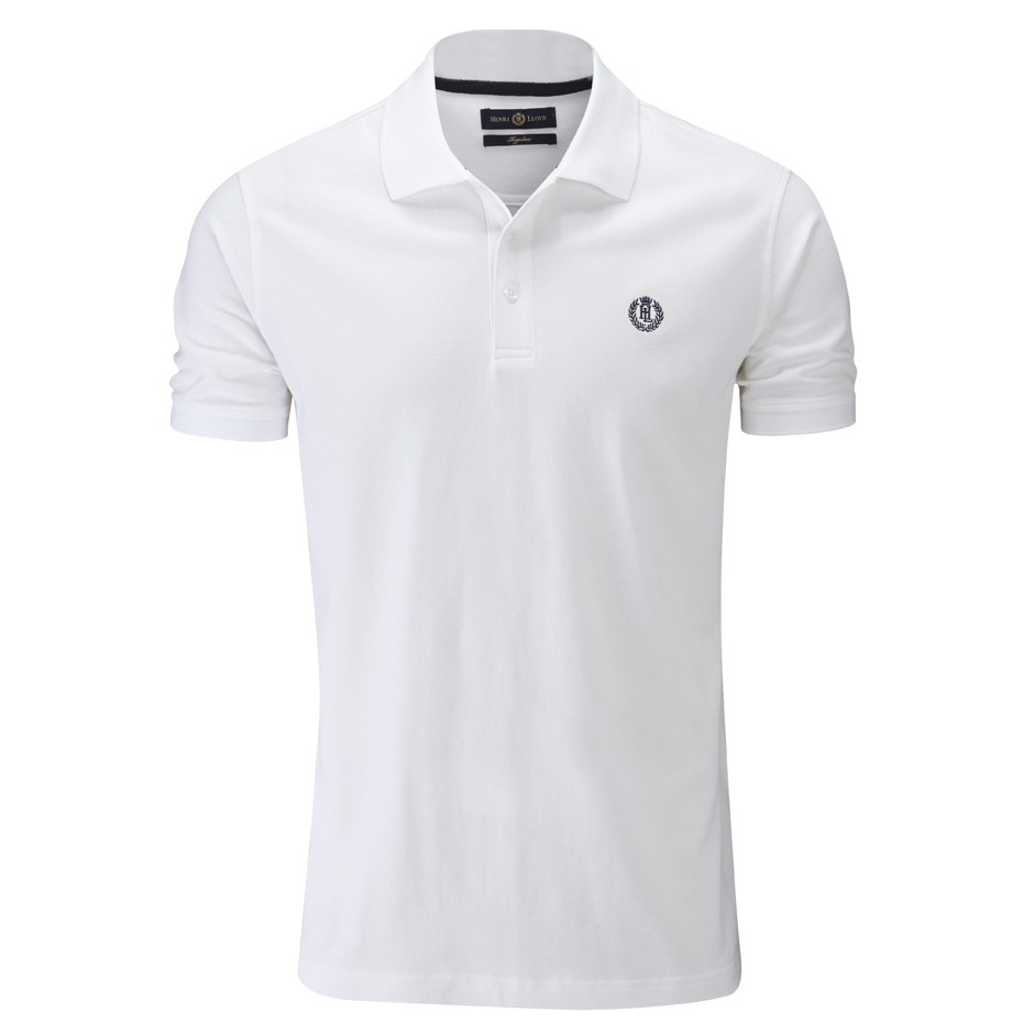 Henri Lloyd Bright White Cowes Regular Polo