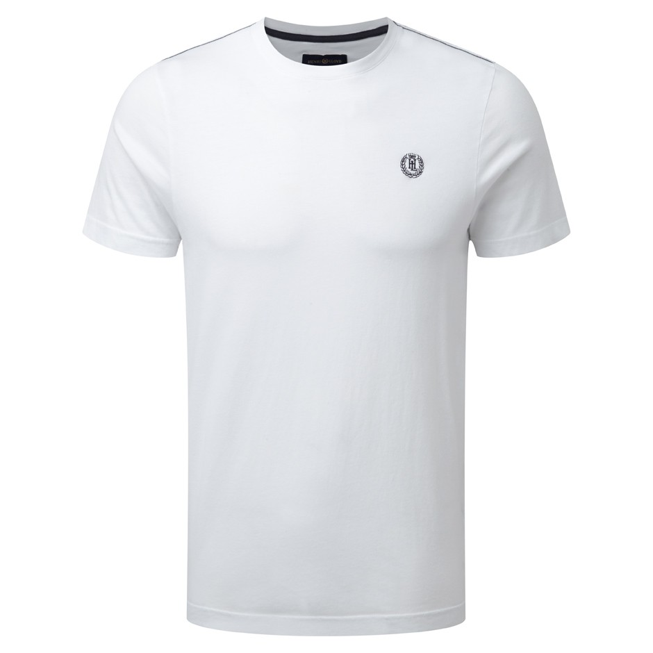 Henri Lloyd Bright White Newport Regular Tee