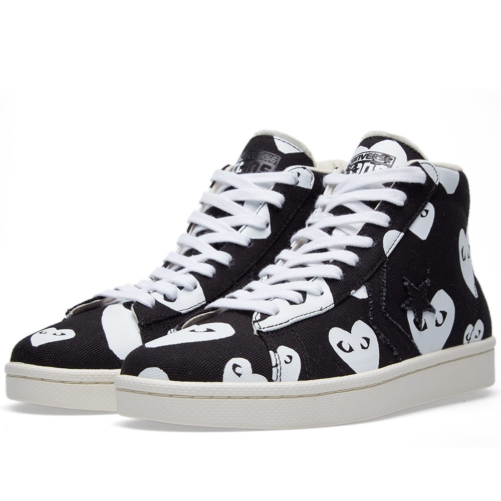 Garcons Play x Converse Pro Leather Hi
