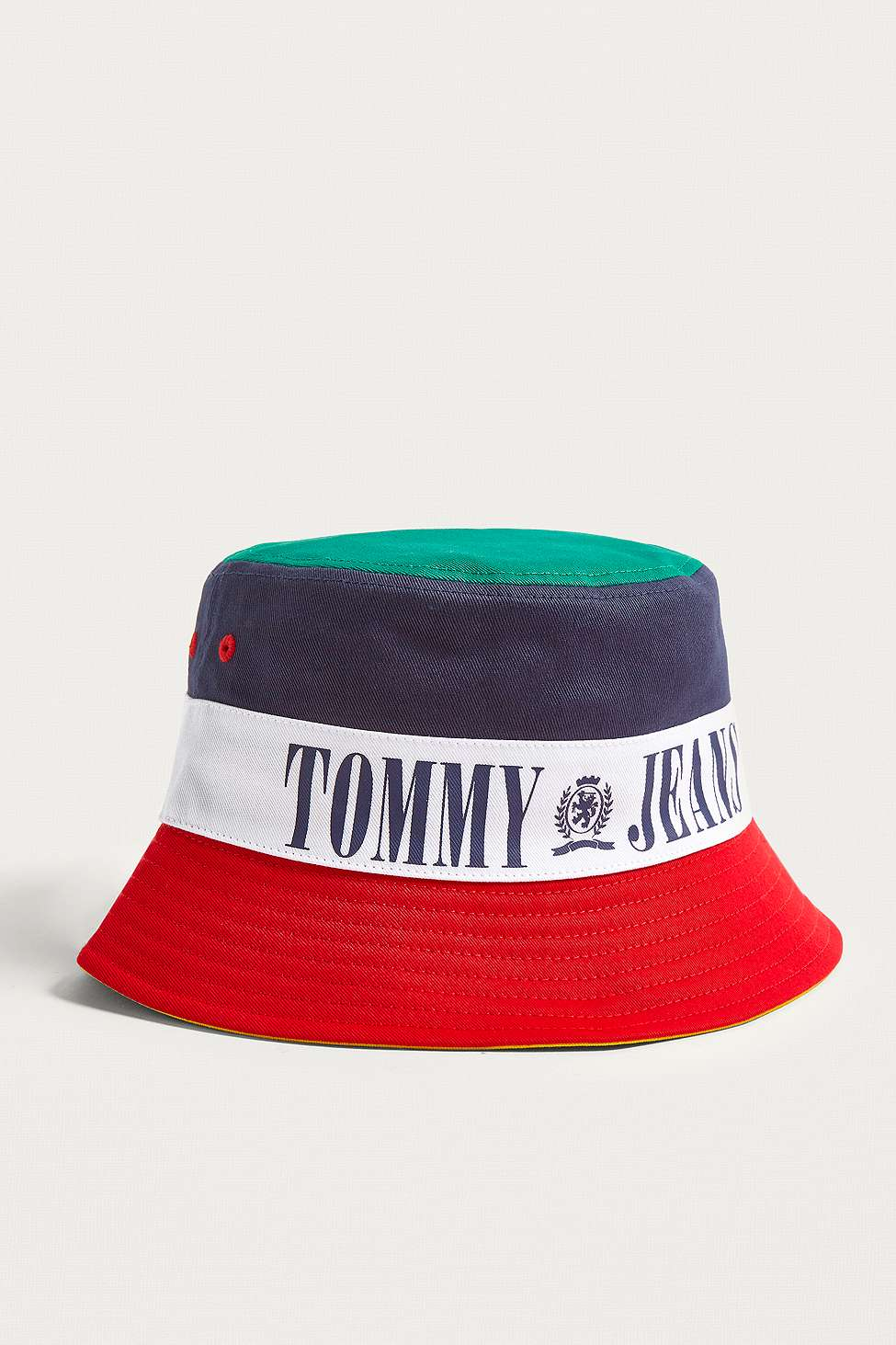 775dbe540c 90s Tricolour Bucket Hat by Tommy Jeans — Thread