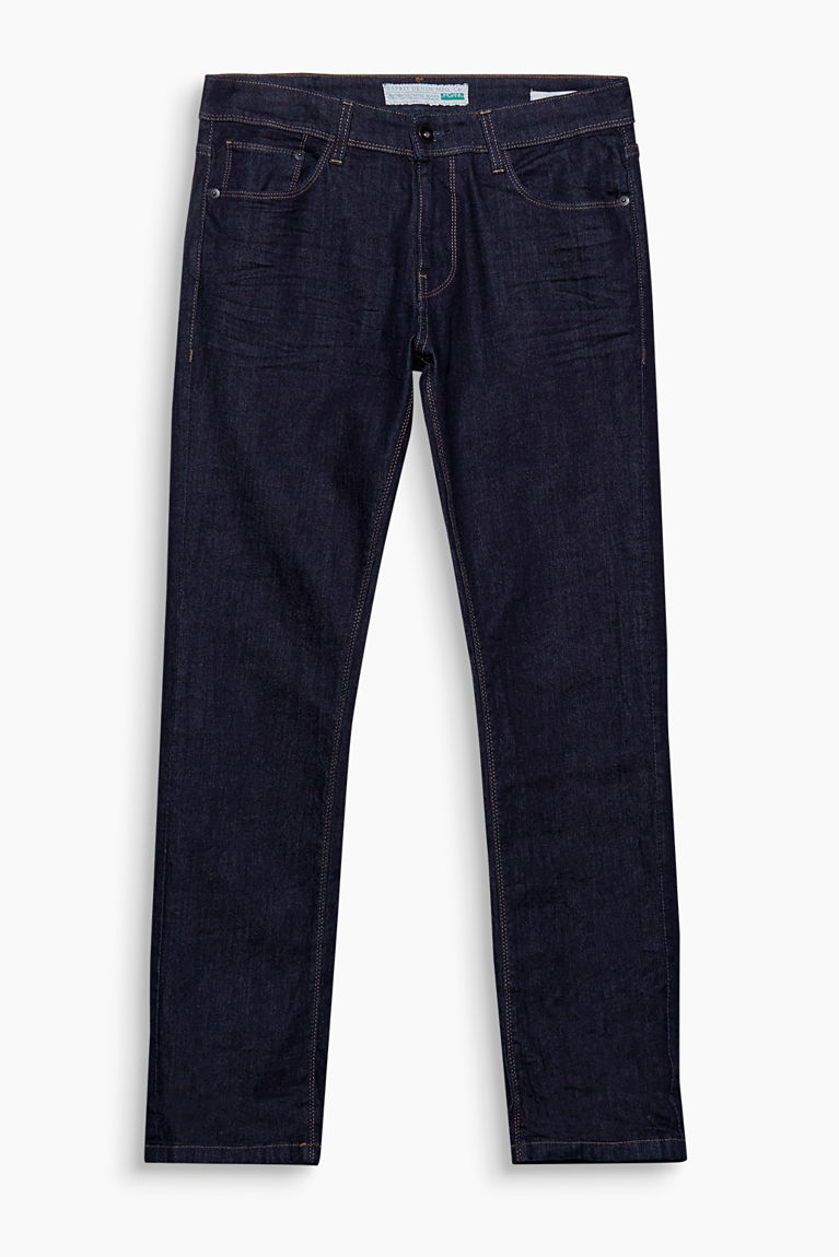 Esprit Blue rinse - 900 Stretch jeans in organic cotton