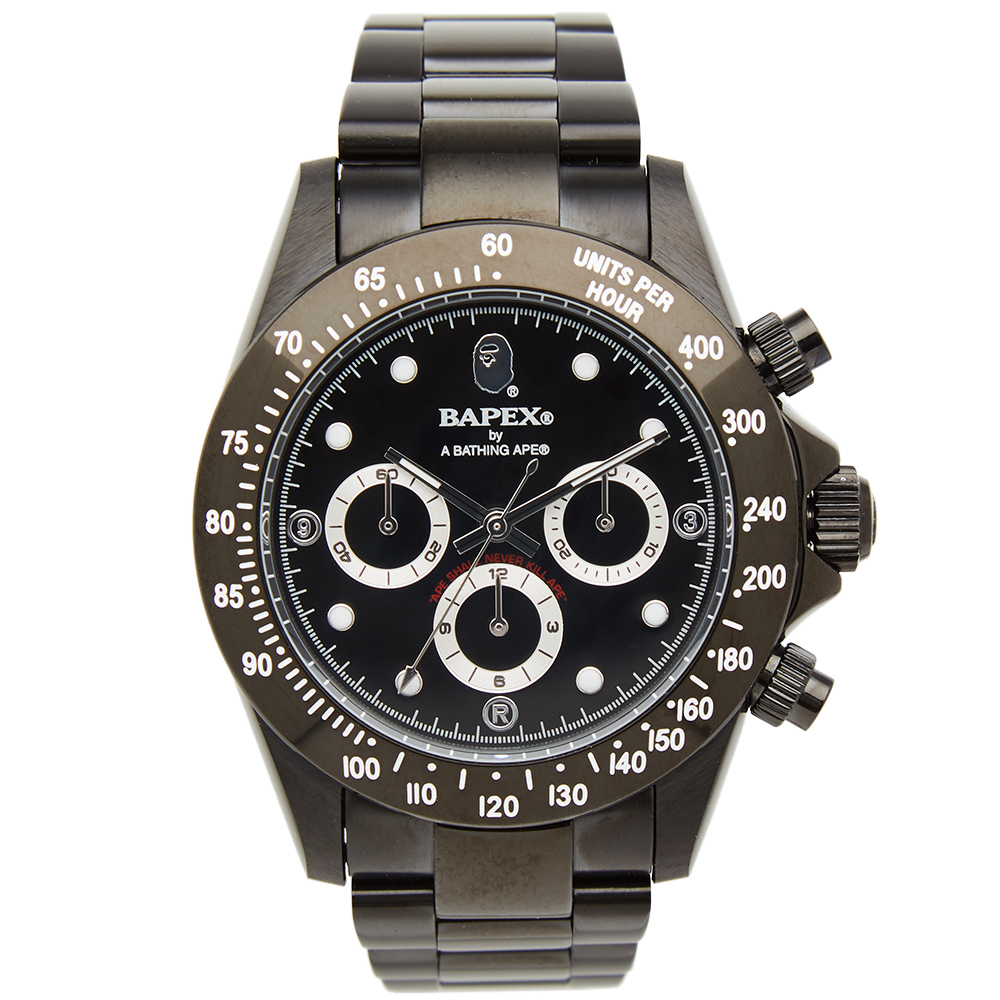 A Bathing Ape Type 3 Bapex Watch By A Bathing Ape