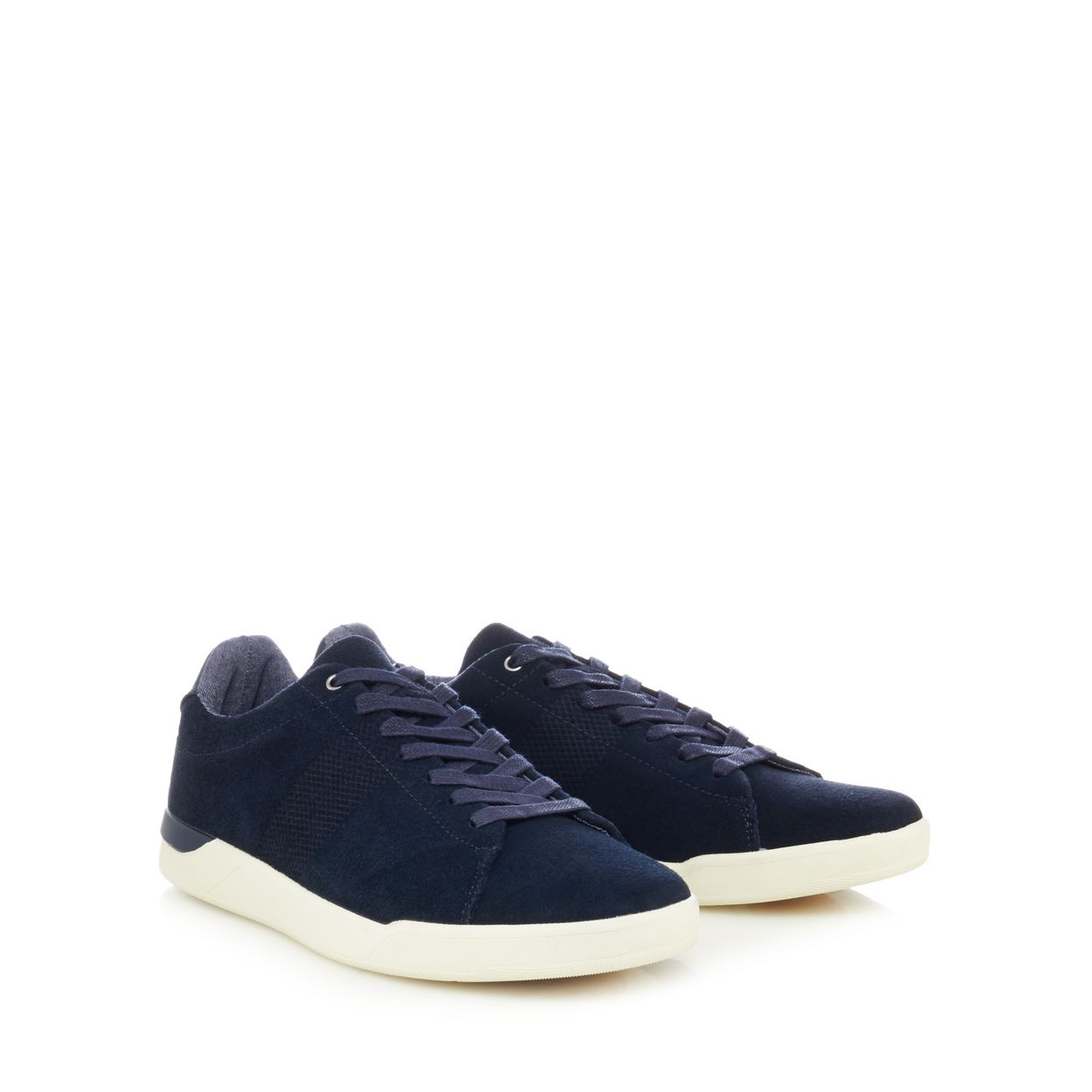 Red Herring Navy suede 'Grayson' trainers