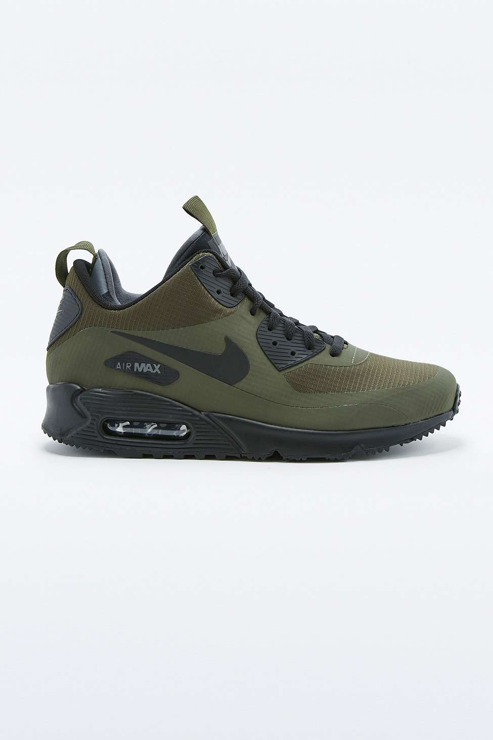 Air Max 90 Mid Winter Khaki Trainers by