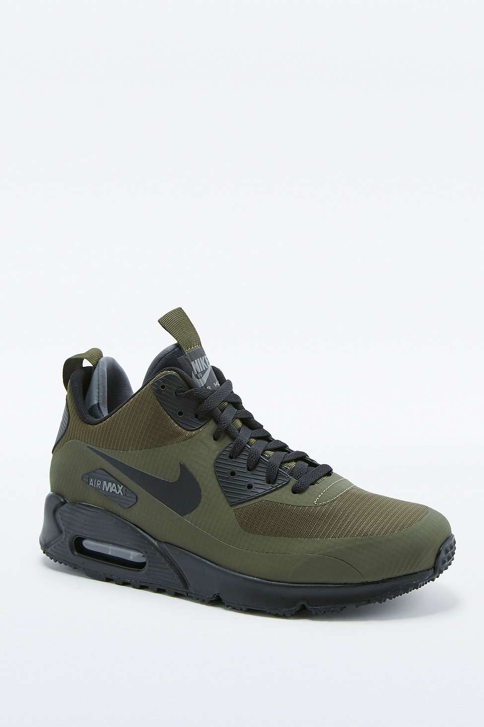 best sneakers 9b40a ad0fd Nike Air Max 90 Mid Winter Khaki Trainers. £110