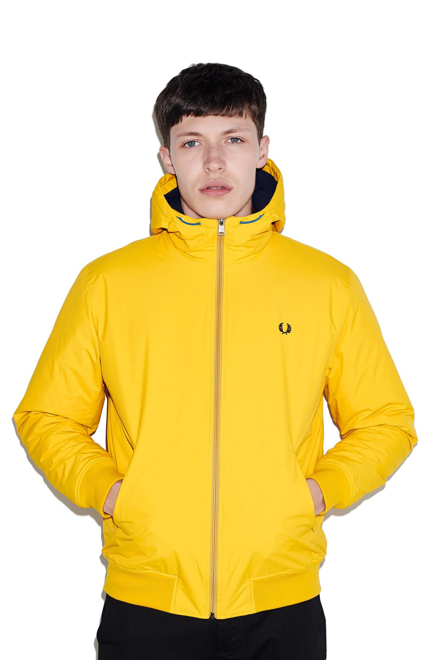 70616a54fab Hooded Quilted Brentham Jacket by Fred Perry — Thread