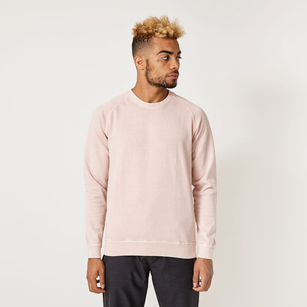 Suit Pale Pink Hunter Sweatshirt