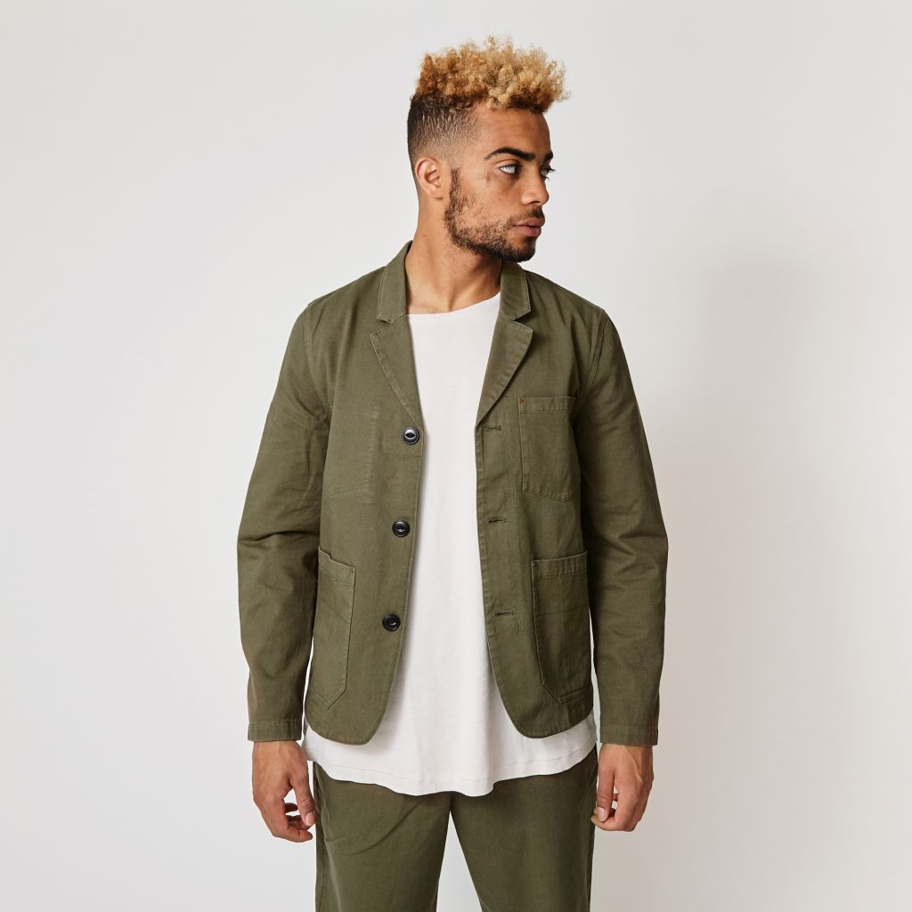 Suit Dr Bronnum Dust Green Jacket