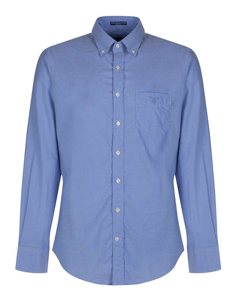 GANT Clay Blue Diamond G The Perfect Oxford Fitted Shirt