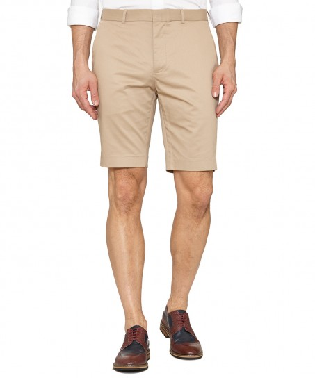 Peter Werth Arrad Cotton Shorts Sand
