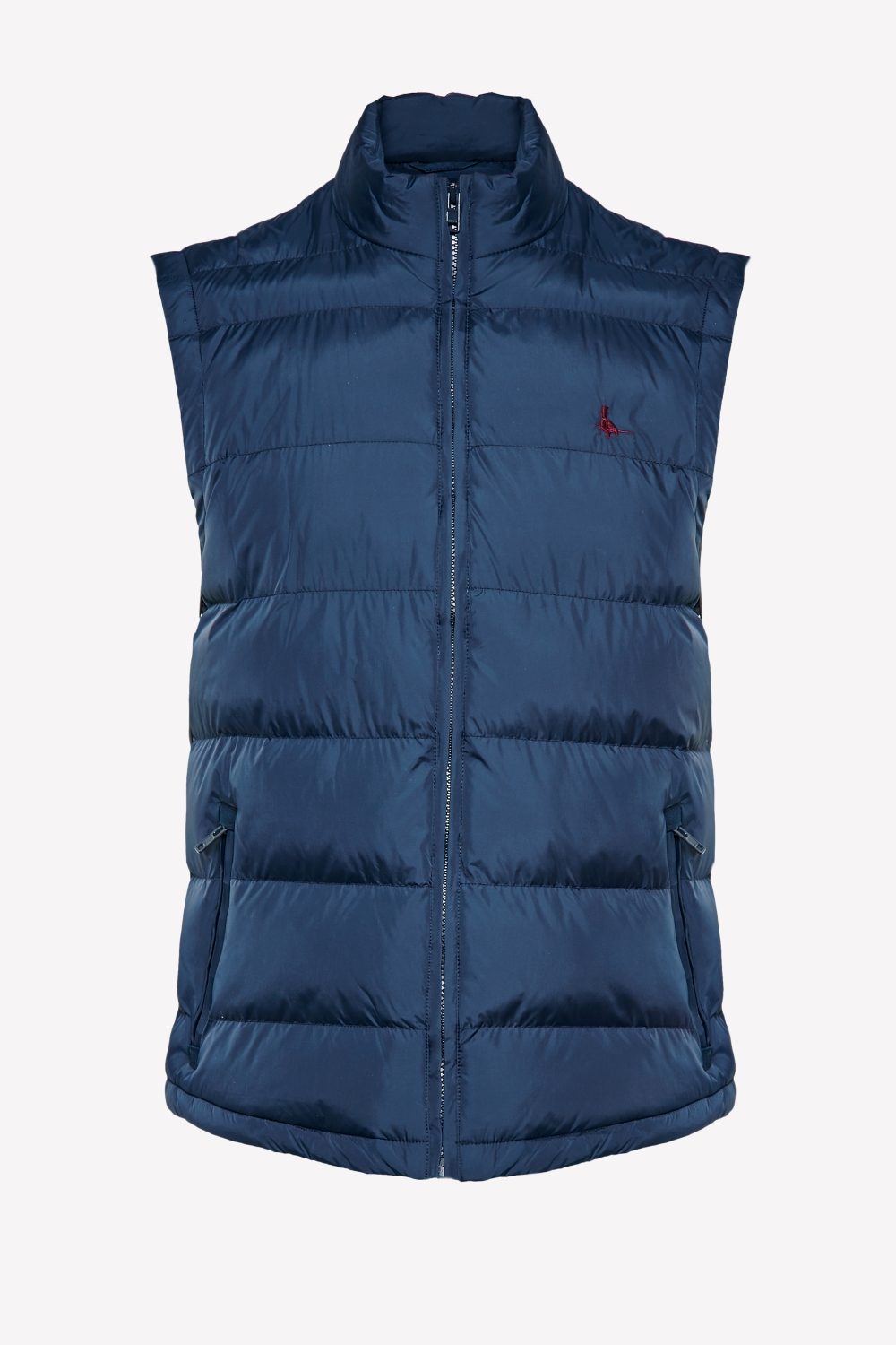 Jack Wills Navy BREILE NYLON GILET