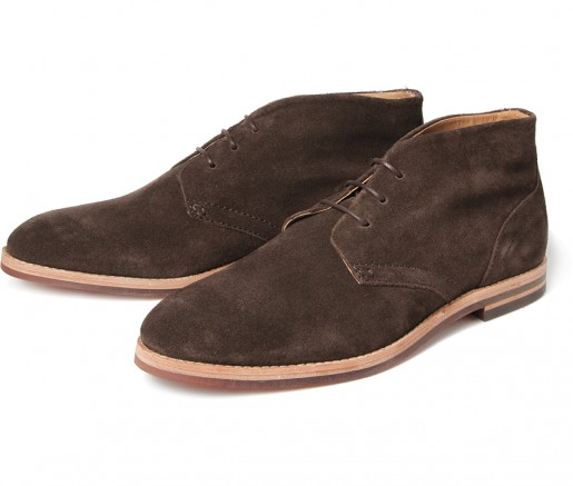 Hudson Shoes Houghton III Suede Brown Boot