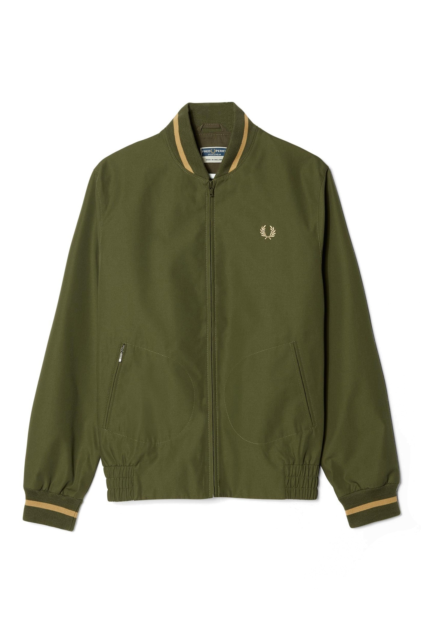 4c88bd37b Reissues Made In England Tennis Bomber by Fred Perry