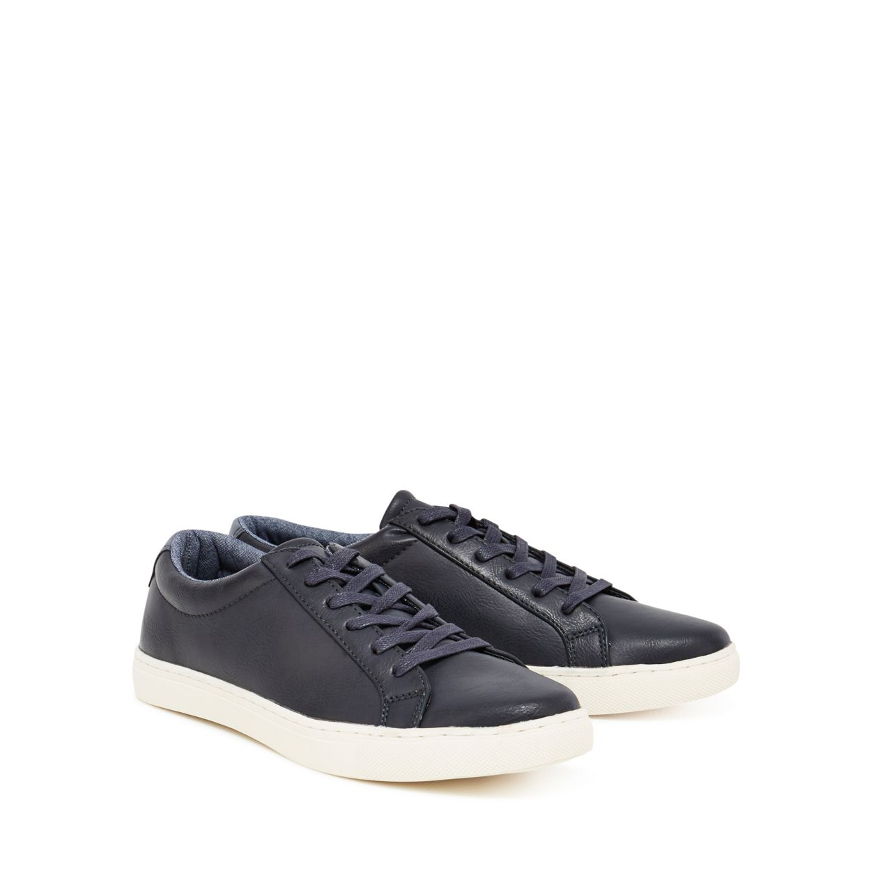 Red Herring Navy 'Dylan' lace up trainers
