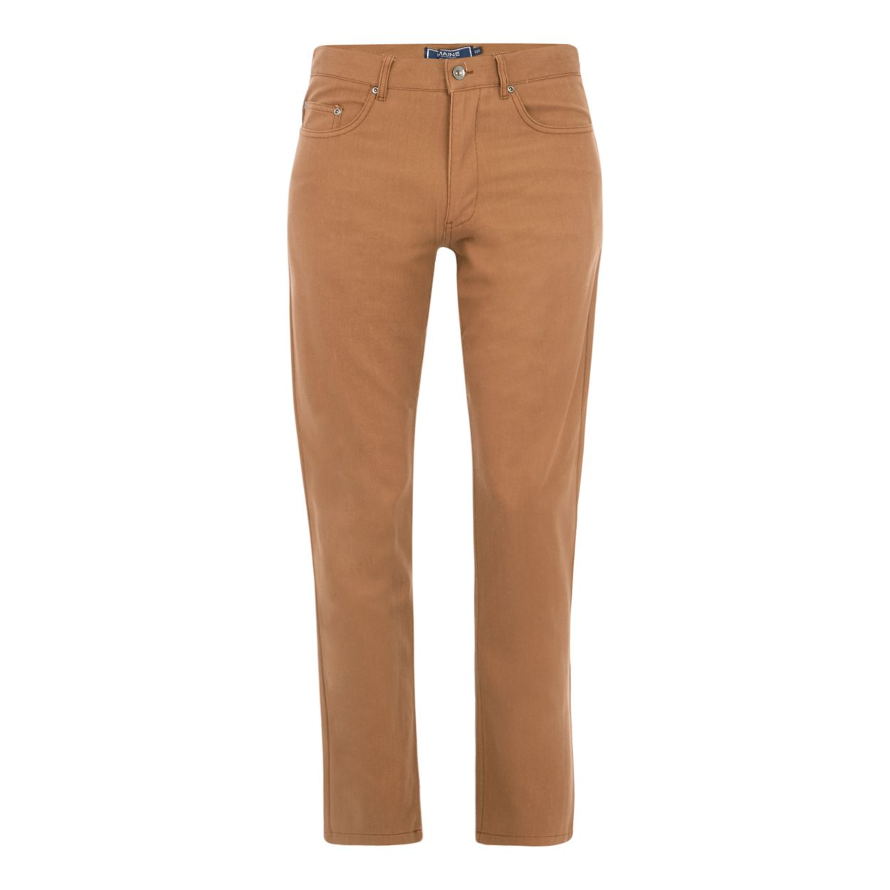 Maine New England Tan broken Bedford trousers
