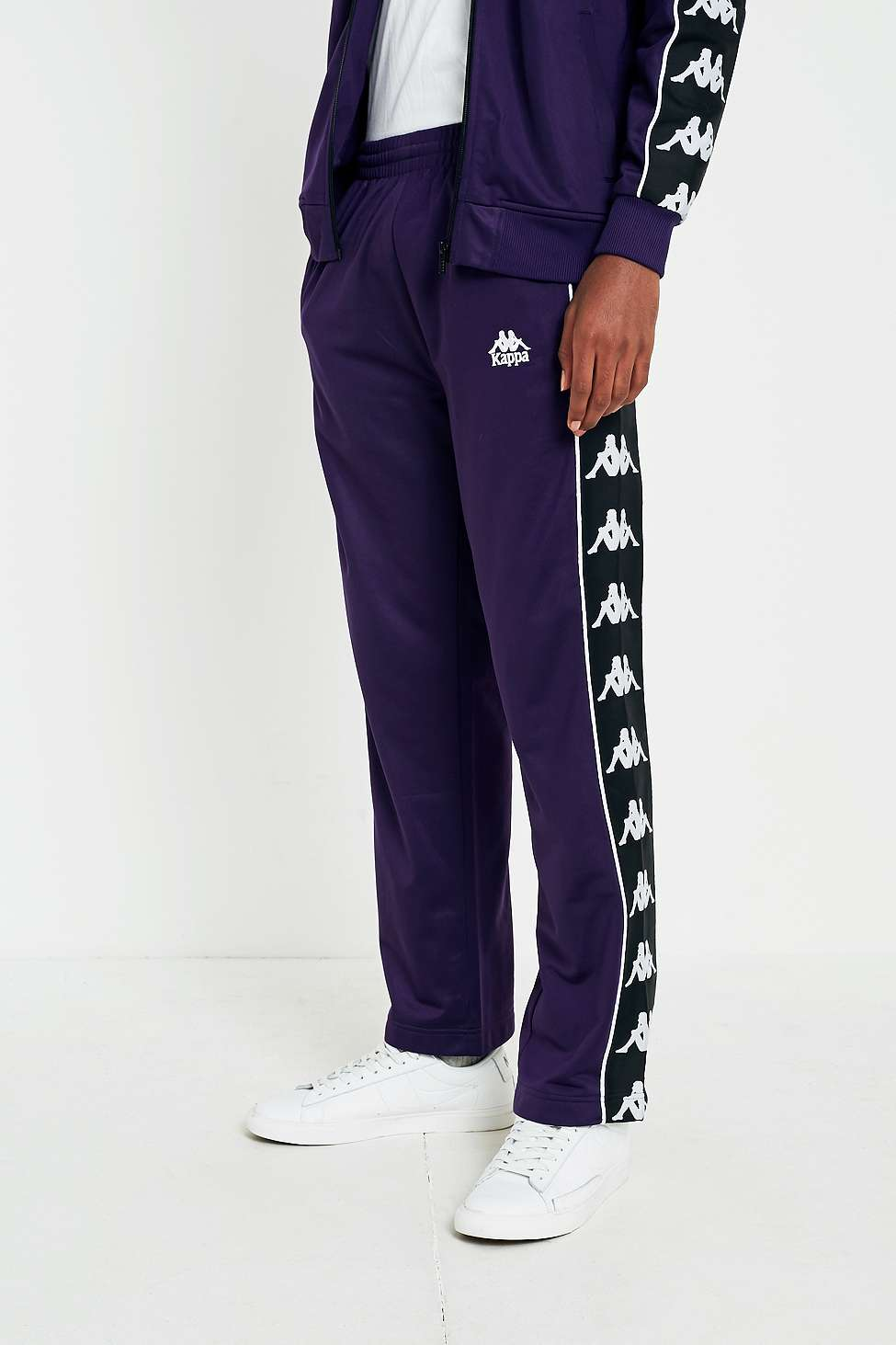 8502d9e5 Banda Astoria Purple Track Pants by Kappa — Thread