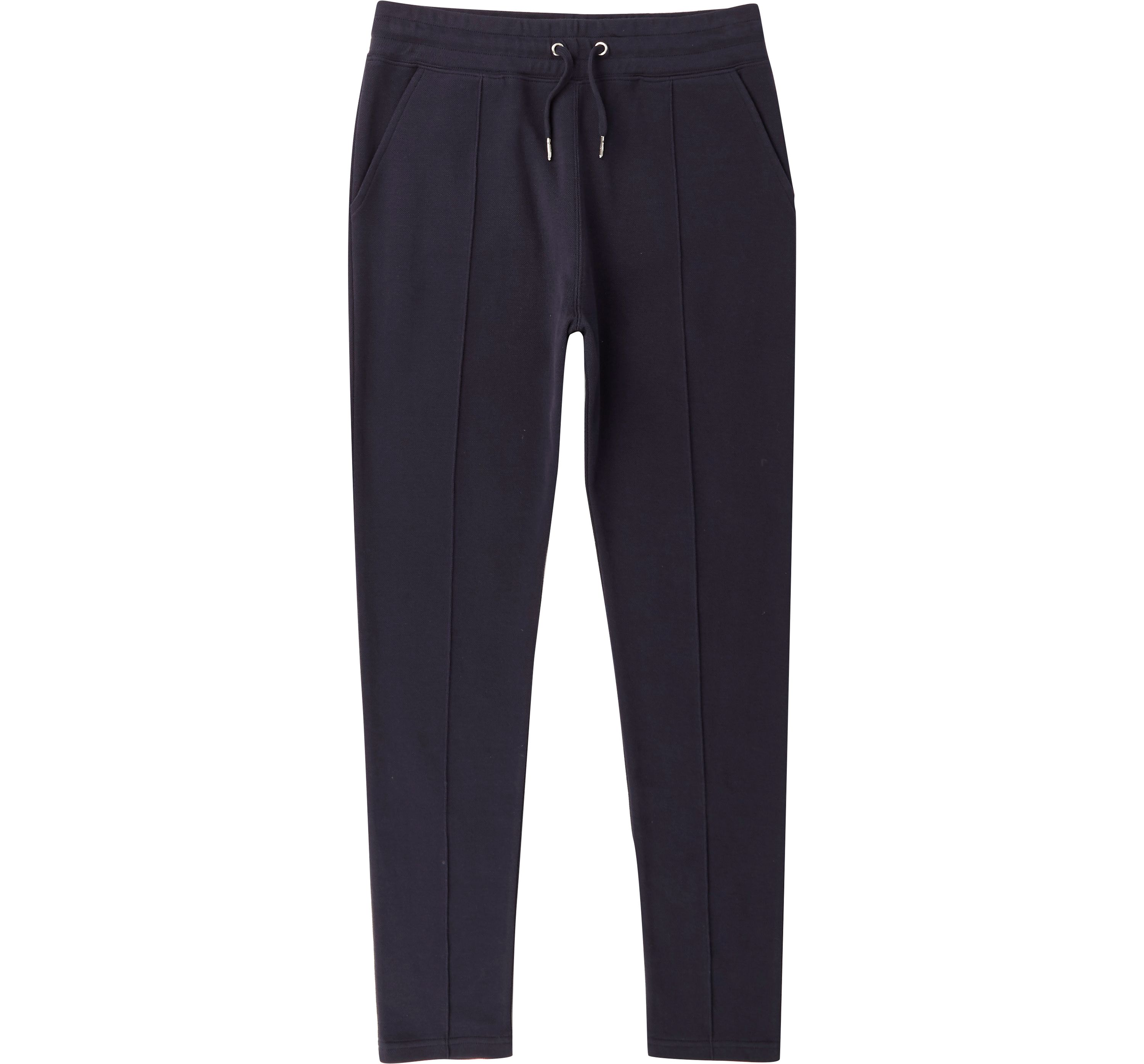River Island Mens Navy muscle fit pique joggers