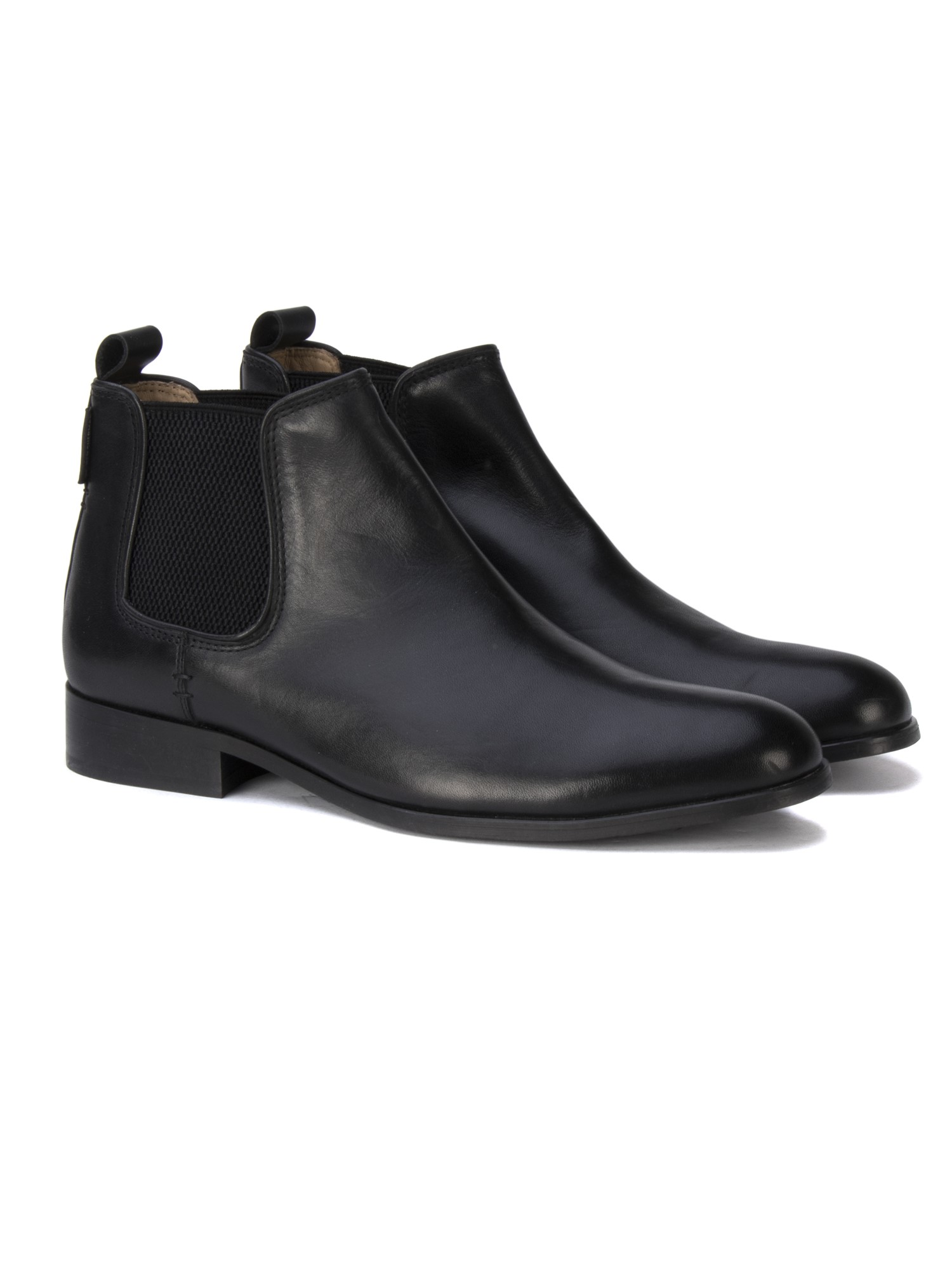 Ben Sherman Black Chelsea Boot