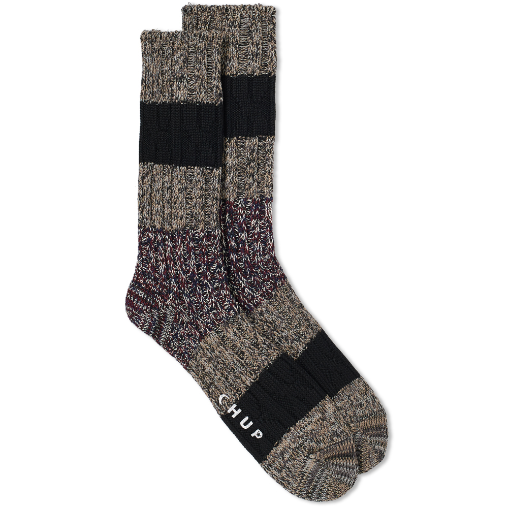 CHUP by Glen Clyde Company Grey Chup White Label Stratum Sock