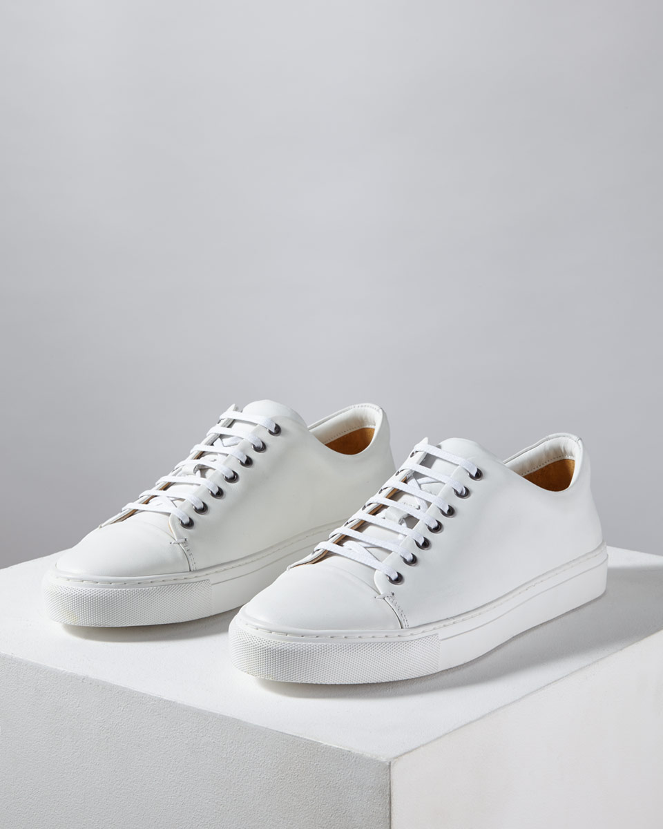 Campbell Leather Trainer by Jigsaw